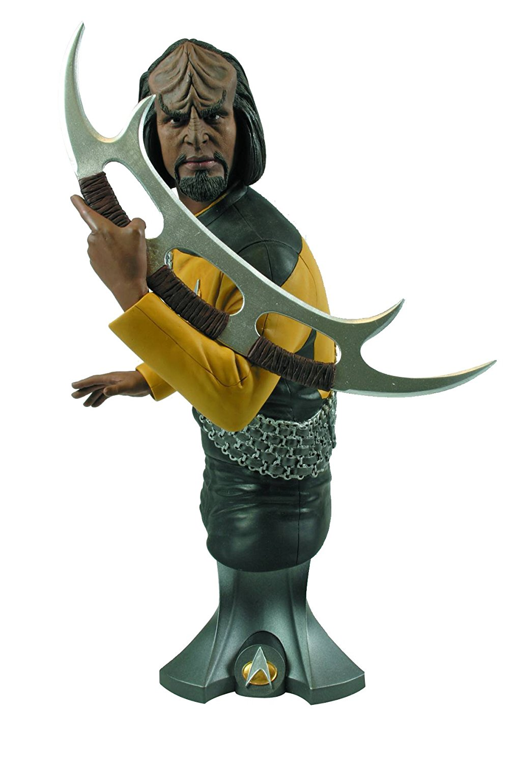 Titan Merchandise Star Trek Commander Worf Maxi-Action Figure Bust by Seven Times Six