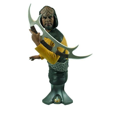 Titan Merchandise Star Trek Commander Worf Maxi-Action Figure Bust - T-rex Merchandise