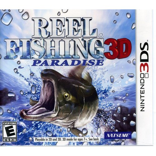 Reel Fishing Paradise 3D (Nintendo 3DS)