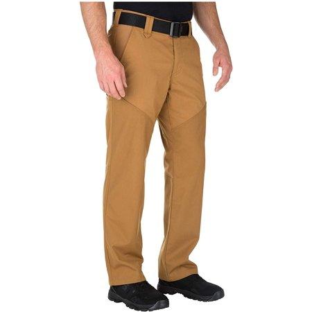5.11 Tactical Men's Flex-Tac Stonecutter Work Uniform Operator Pants, Style 74447, Brown Duck, 42Wx32L thumbnail