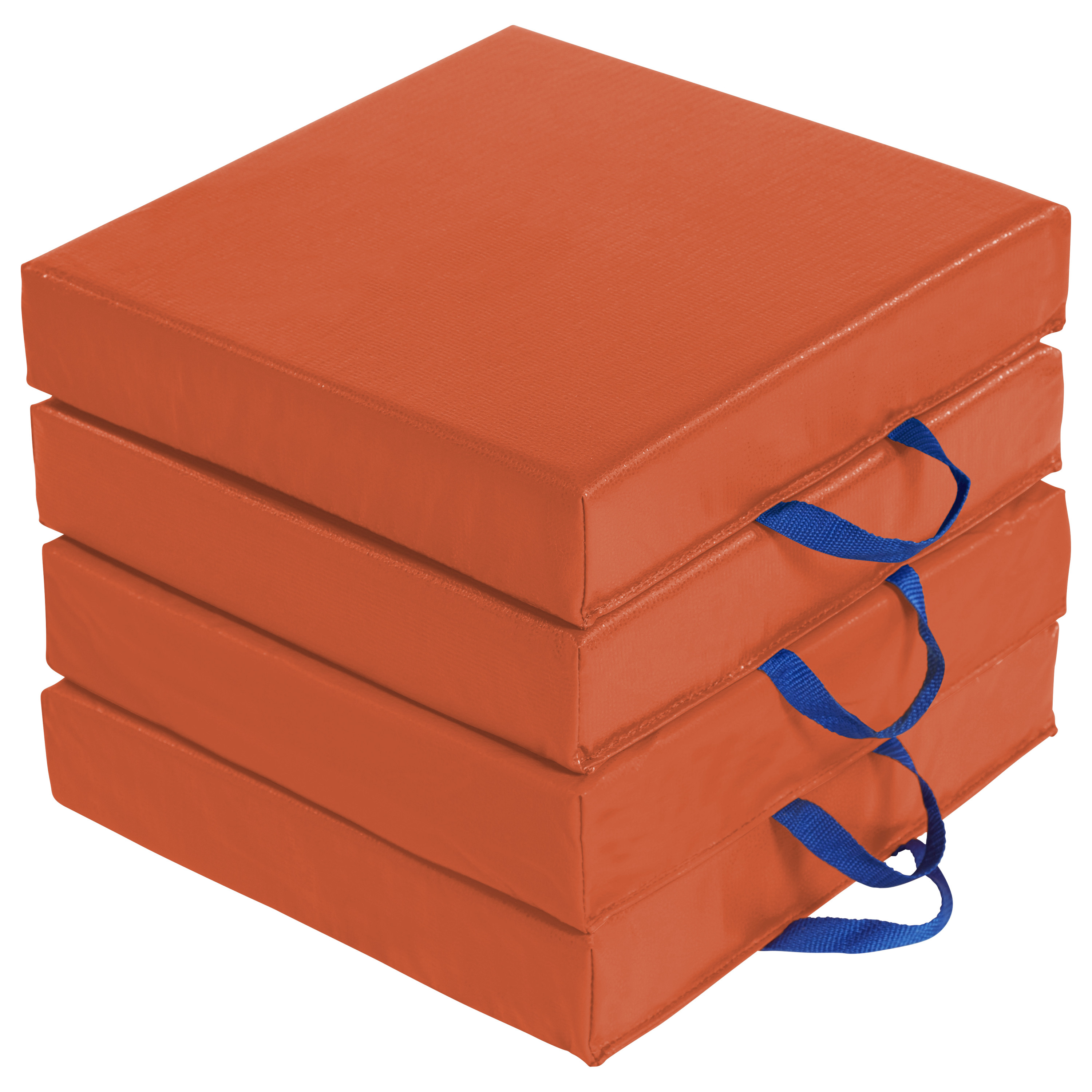 SoftZone® Carry Me Cushion Square 4-Piece -Orange