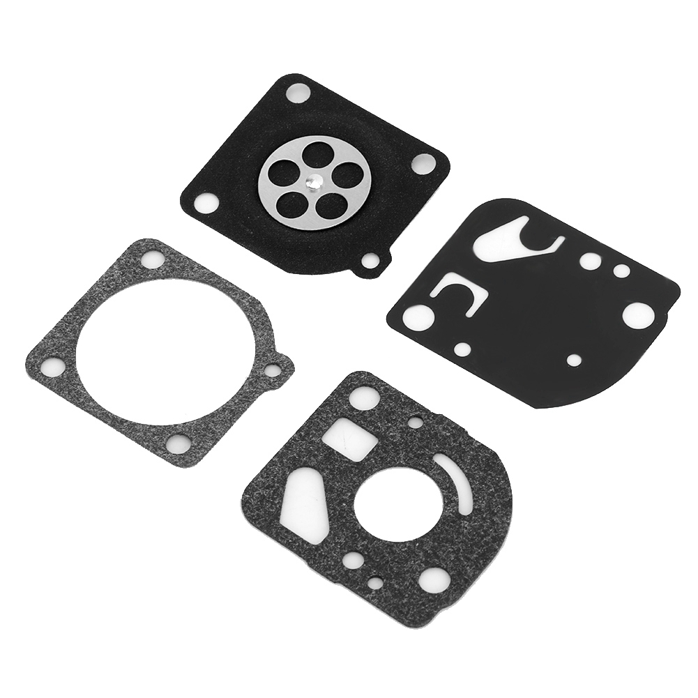 Yingshop Pack of 5 Carburetor Gasket Rebuild Set Carb Repair Kit Compatible for Zama RB-47 C1UW10 C1QW11 C1UW12 C1UW13 C1UW16 C1UW22 C1QW31 C1QW34 C1QW35 C1QW36 C1Q-W37 W38 W39 W40 W41