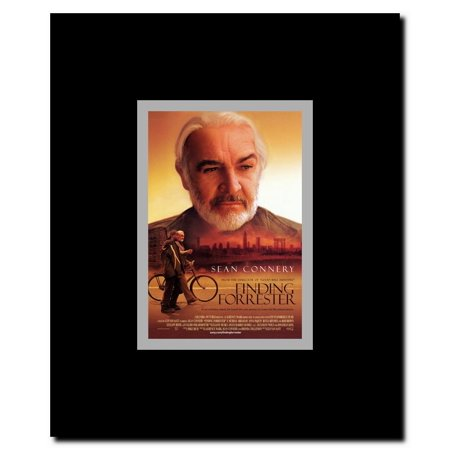 Finding Forrester Framed Movie Poster This Custom Frame and Promotional Movie Poster is ready for hanging and display.Picture Size: 11 x 17Custom Frame Size: 12 x 18 inchesCustom Frame Material: WoodCustom Frame Color: BlackProtective Clear Laminate to preserve and prevent fading dust fingerprints etc.Each frame has hooks and wire which makes hanging both simple and convenient. The Promotional Movie Poster as shown above is included with the Custom Frame at no additional cost.