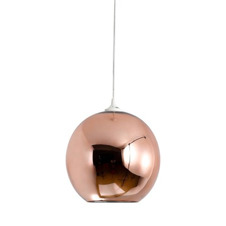 Mirror Ball Shade Pendant Lamp - Copper - Reproduction - image 1 de 1