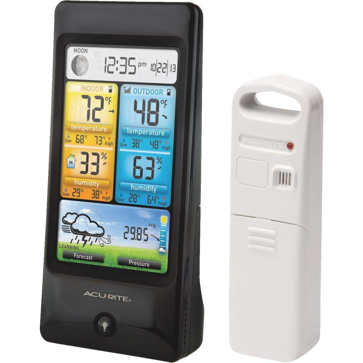 Color Weather Station by Chaney Instrument Co