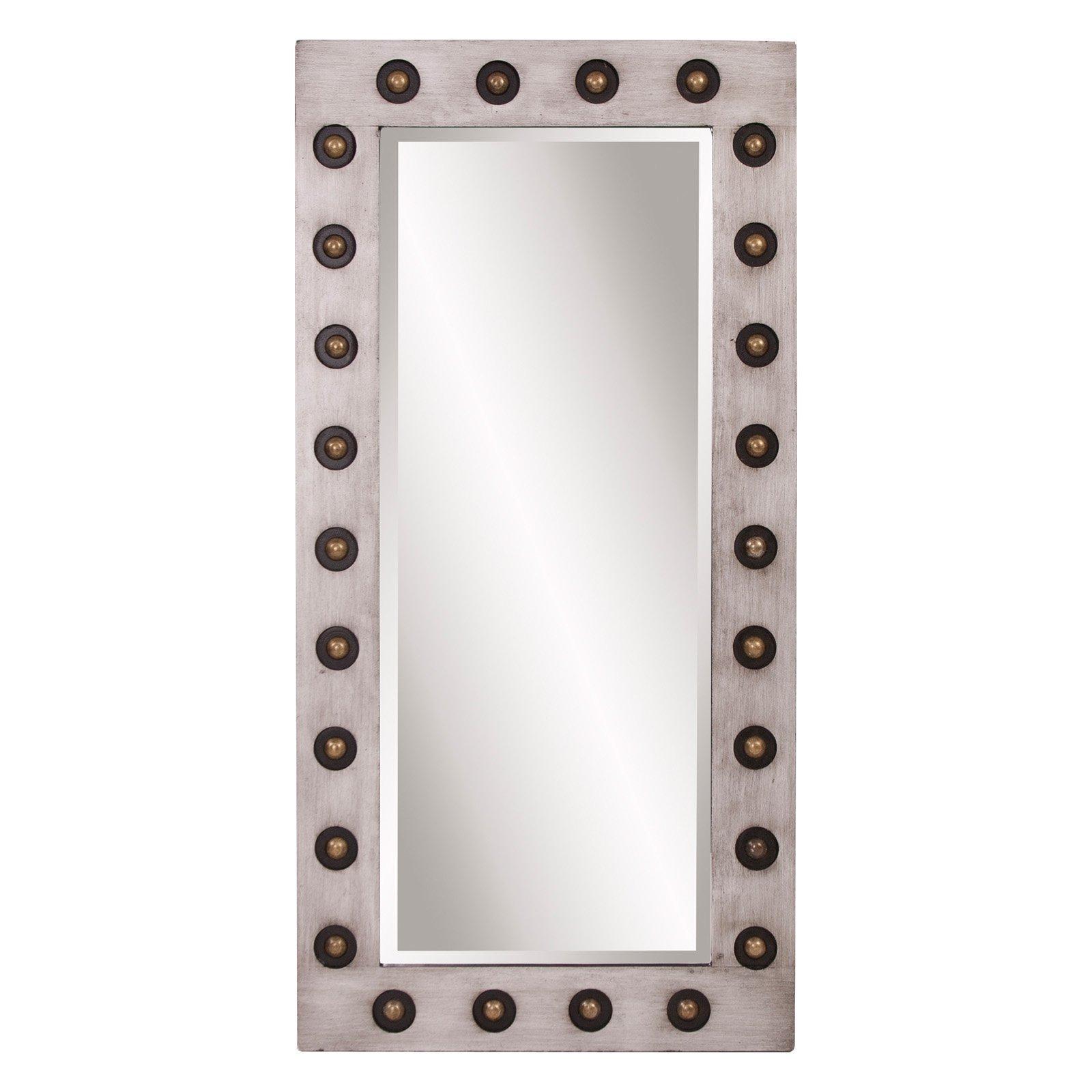 Howard Elliott Jax Industrial Wall Mirror 24w X 48h In Walmart Com Walmart Com