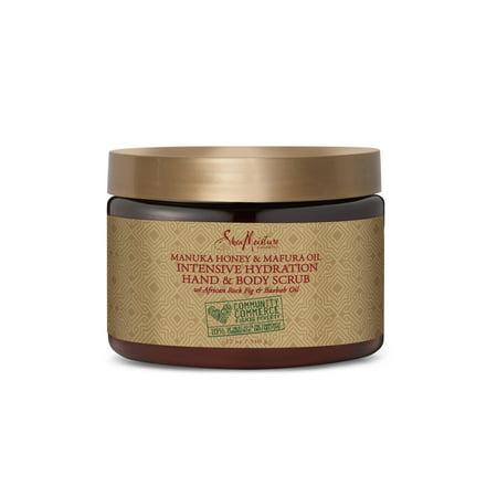 Shea Moisture Manuka Honey Mafura Oil Scrub INTS HYD 12 OZ