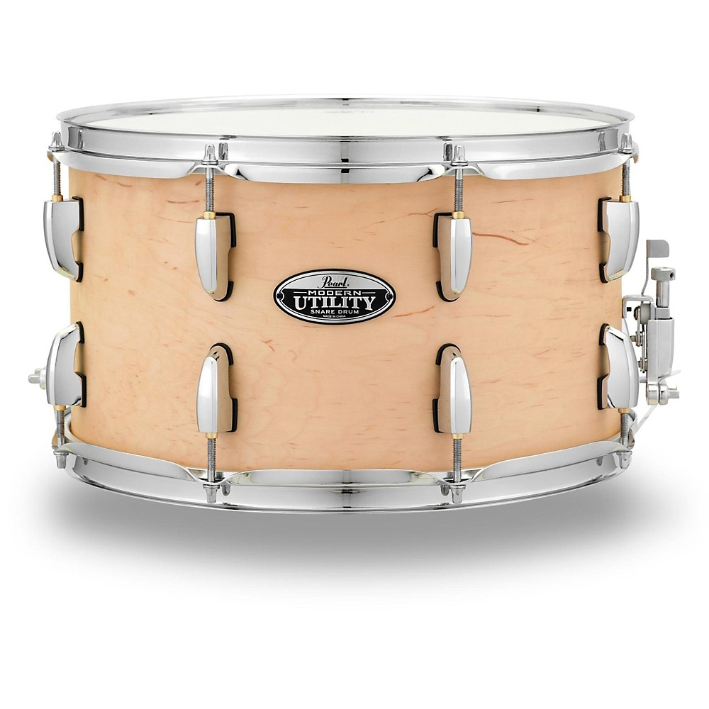 """Pearl Modern Utility 14""""x8"""" Maple Snare Drum"""