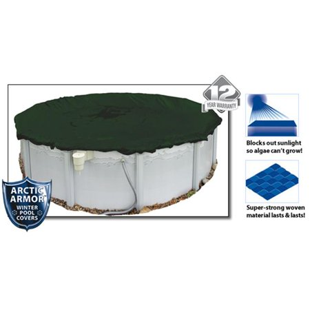 Arctic Armor WC826-4 12 Year 16'x32' Oval Above Ground Swimming Pool Winter Covers - image 4 of 4