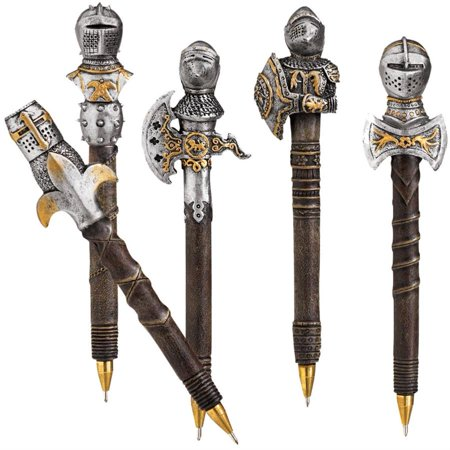 Design Toscano Knights of the Realm: Battle Armor Pen - Pen Knight