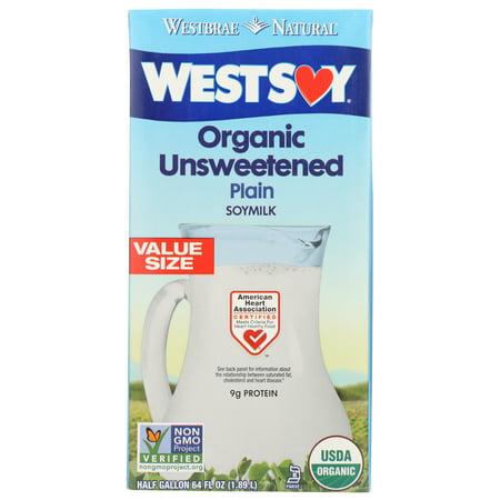 WestSoy Original Soymilk, Unsweetened, 64 Fl Oz