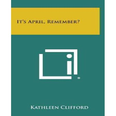 It's April, Remember? - image 1 of 1