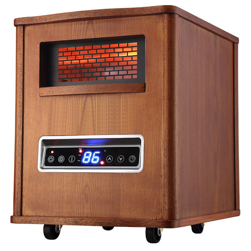 Pro Fusion Heat GD9315BCW-B6J 1500 Watt Brown Infrared Heater With 6 Tubes