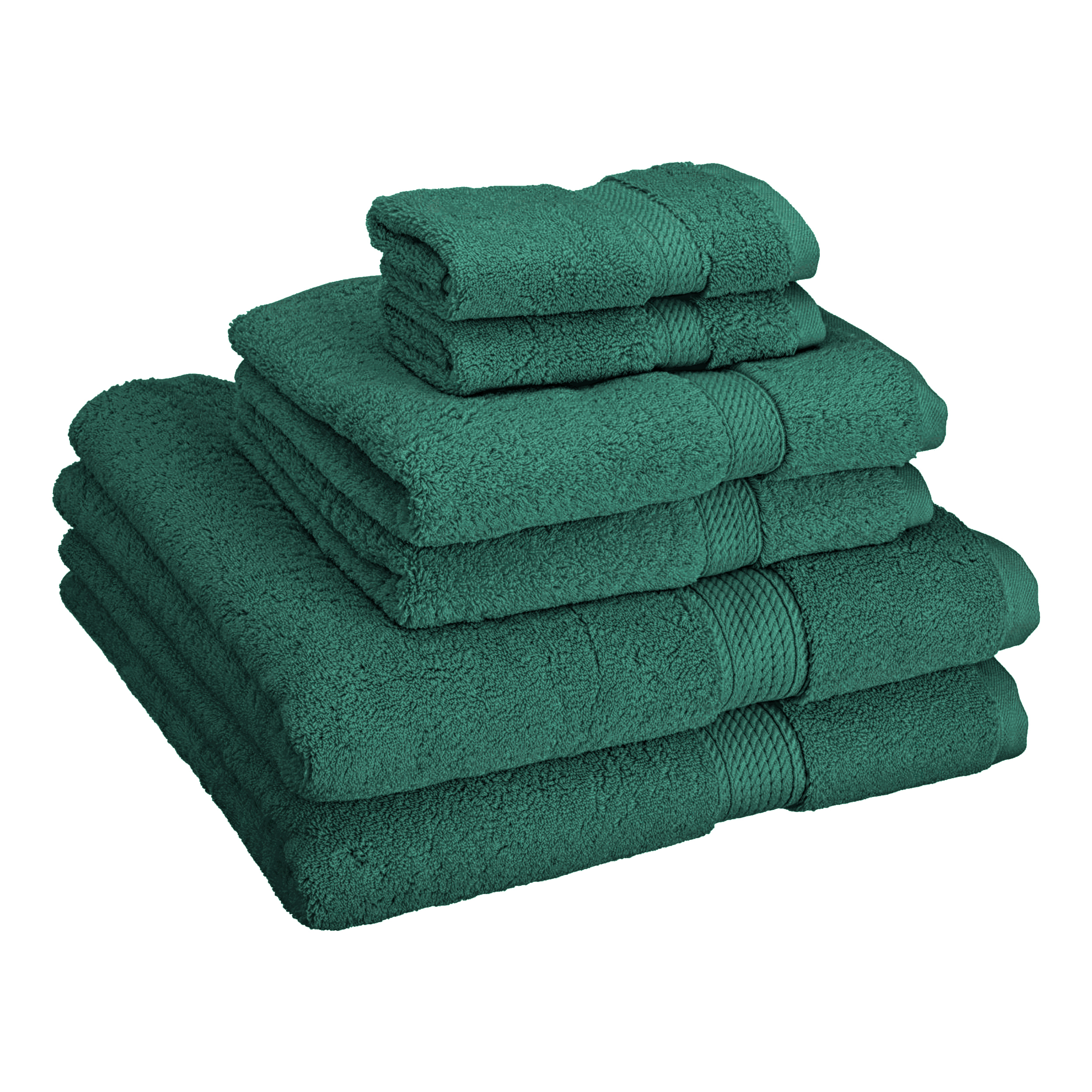 Superior 900GSM Egyptian Quality Cotton 6-Piece Towel Set