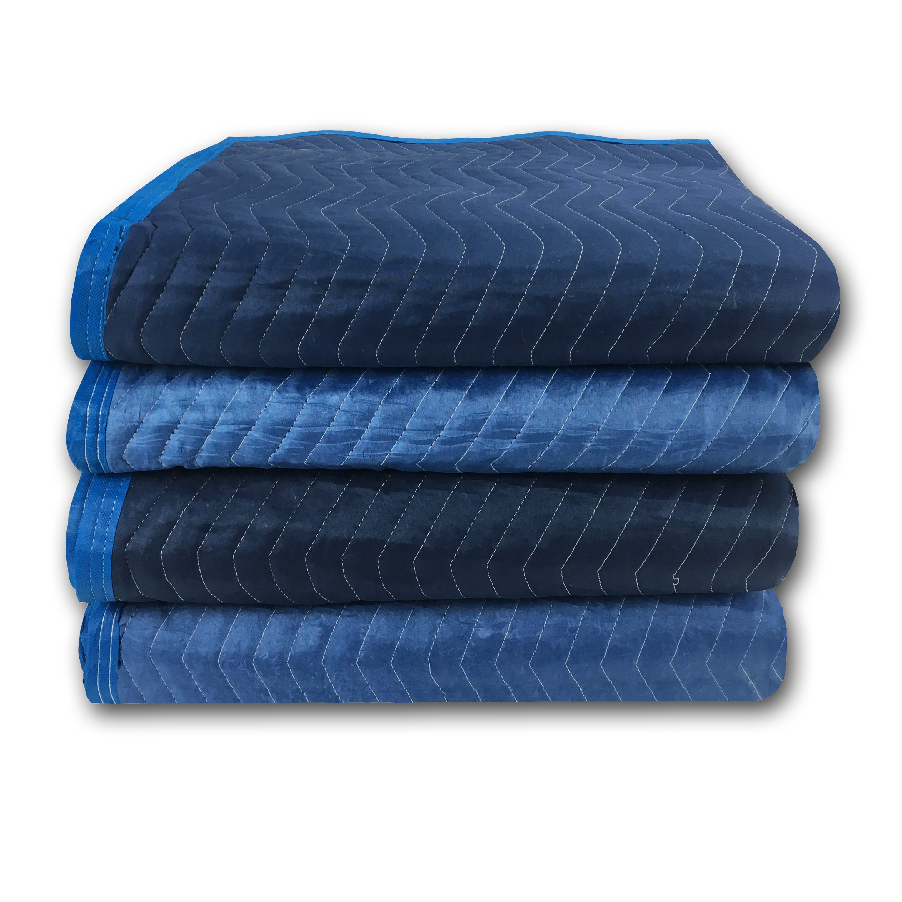 Uboxes Super Supreme Moving Blankets, 72 x 80 in, 7.92lbs each, 4 Pack