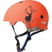 Triple Eight Dual Certified Bicycle/Skate Helmet with EPS Liner - Pro Model