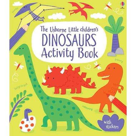 LITTLE CHILDRENS DINOSAUR ACTIVITY BOOK