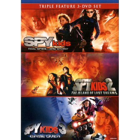 Spy Kids Collection (DVD) (Children's Halloween Movies On Netflix)