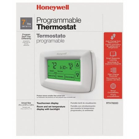 Honeywell 7 Day Programmable Thermostat