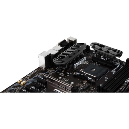 MSI B450-A PRO ATX Motherboard ,AMD B450,AMD Ryzen 1st and 2nd Generation/ Ryzen - image 1 de 8