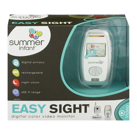 summer infant easy sight digital color video monitor 1 0 ct. Black Bedroom Furniture Sets. Home Design Ideas