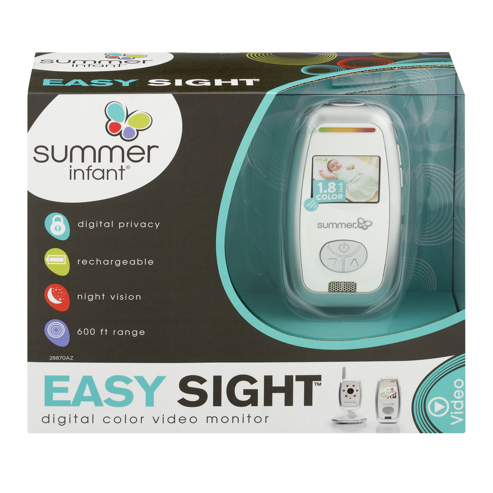 Summer Infant Easy Sight Digital Color Video Monitor, 1.0 CT