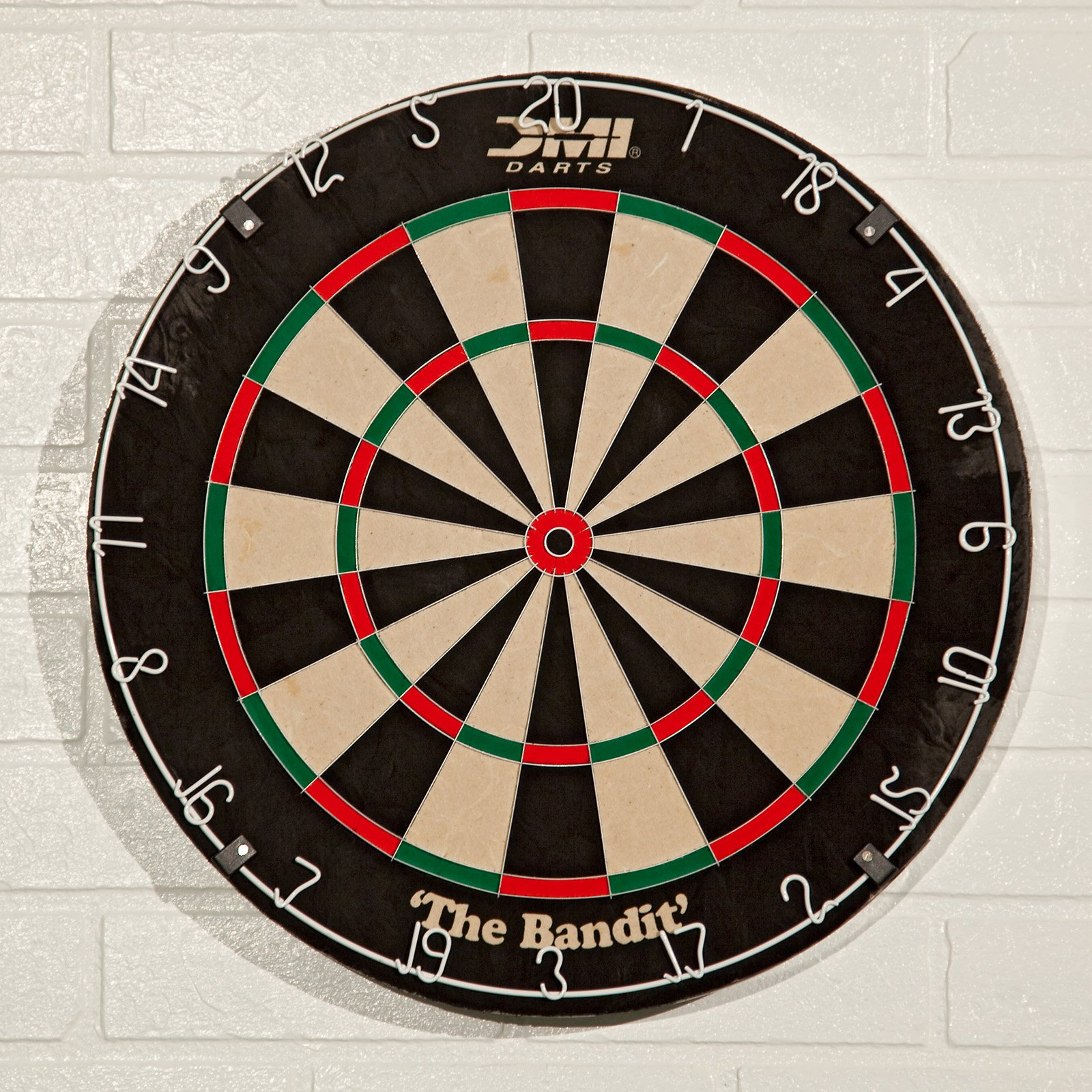 DMI Darts The Bandit Bristle Dart Board by Escalade Sports
