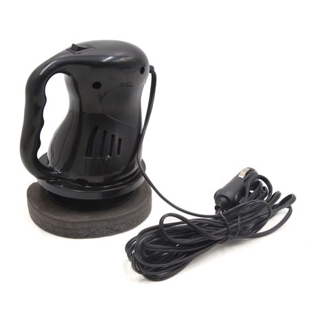 12V Black Round Lighter Waxing Buffing Waxer Polisher Machine for Car - image 2 of 5