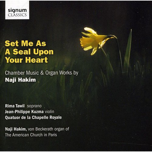 Set Me As A Seal Upon Your Heart: Chamber Music