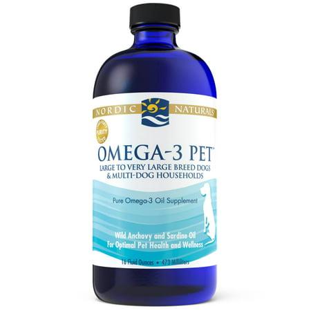 Nordic Naturals Omega-3 Pet, 16oz