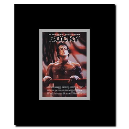 rocky framed movie poster. Black Bedroom Furniture Sets. Home Design Ideas