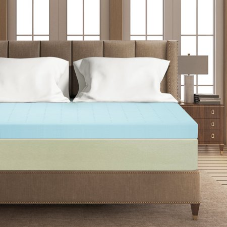 Best Price Mattress 4 Inch Gel Memory Foam Mattress Topper