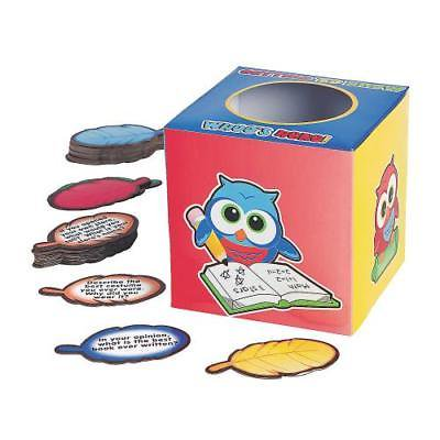 IN-62/9336 Icebreaker Owl Box and Question Card 1 - Icebreaker Cards