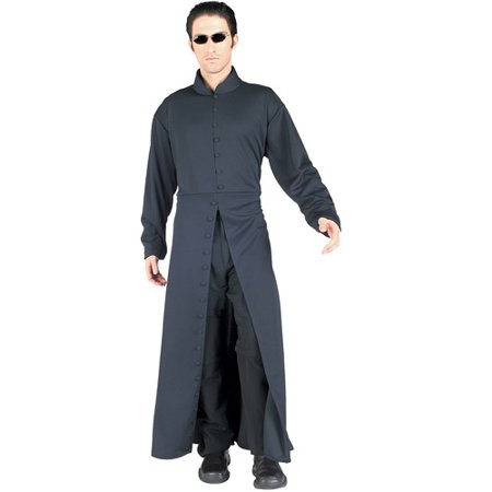 Matrix Neo Adult Halloween Costume - One - Trinity From Matrix Costume