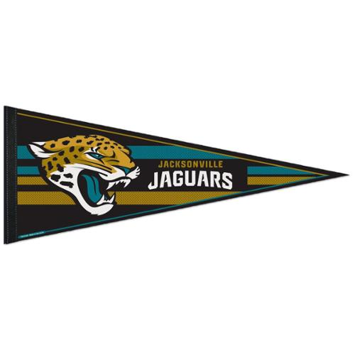 Jacksonville Jaguars Official NFL 12 inch x 30 inch  Felt Pennant by Wincraft