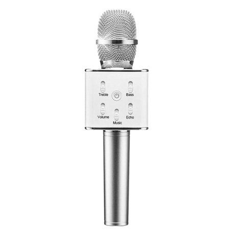 Wireless Bluetooth Karaoke Microphone with Magic Voice Function for Solo/Individual Singing/Small Party/Disco/Home - Magic Microphone