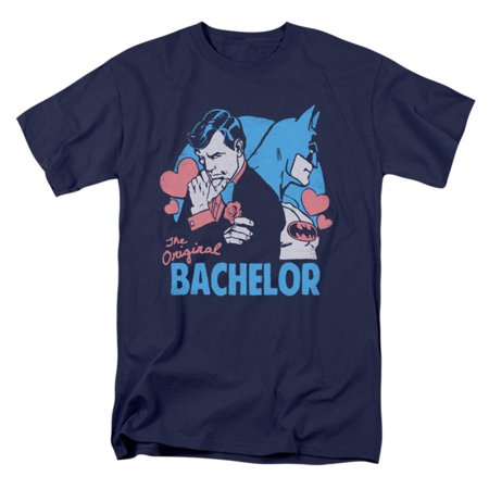 Comics Men's Bachelor T-shirt Navy - Bachelor Party Shirts