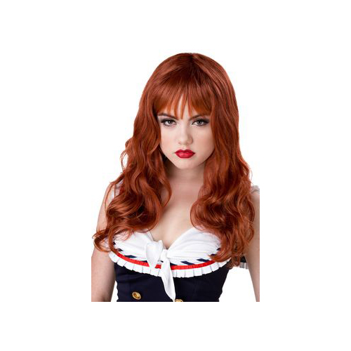 California Costume Collections Auburn Coquette Wig 70539CAL Red Auburn