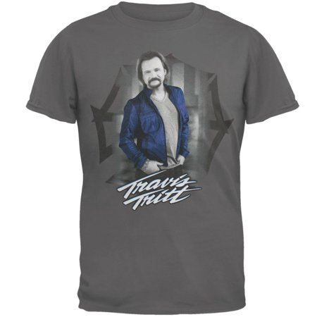 Travis Tritt   Blue Shirt 2013 Tour T Shirt