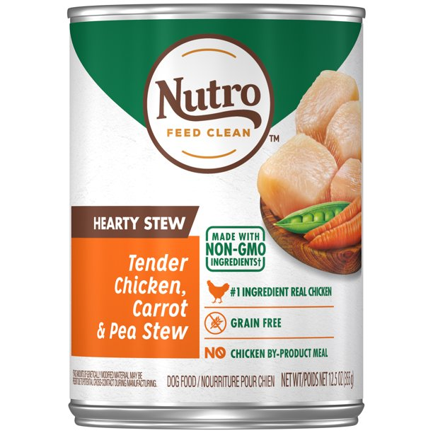 NUTRO HEARTY STEW Adult High Protein Natural Wet Dog Food