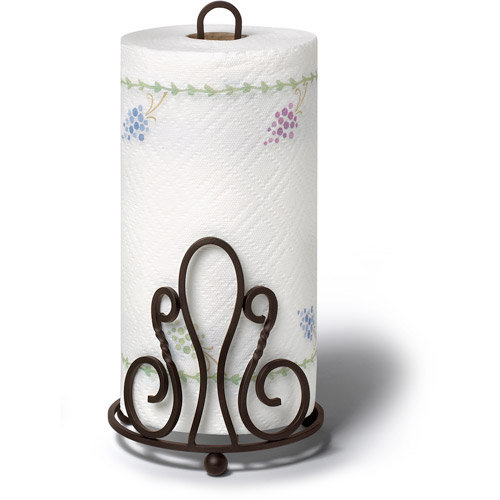 Spectrum Patrice Paper Towel Holder, Bronze