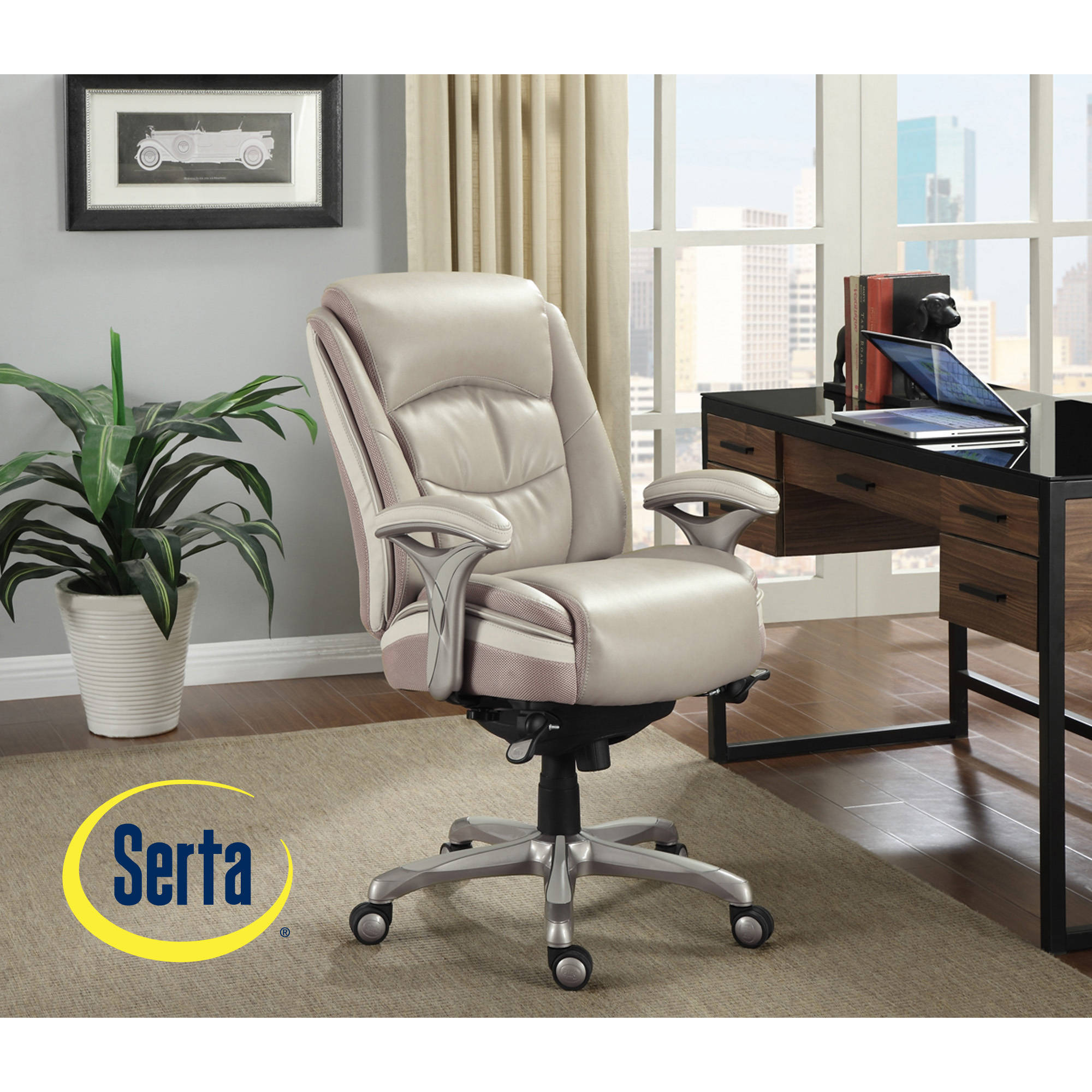 Serta Smart Layers Manager Office Chair, Serenity   Walmart.com