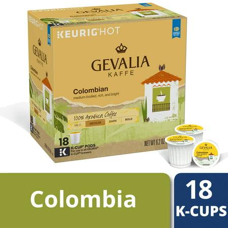 Gevalia Colombian Coffee K-Cup Pods, Caffeinated, 18 ct - 6.2 oz