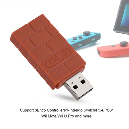Cisco Bluetooth Adapter (Ashata USB Wireless Bluetooth Adapter for Nintendo Switch&8Bitdo Controllers&Windows&Mac& Raspberry Pi, usb adapter for controller, switch rr adapter )
