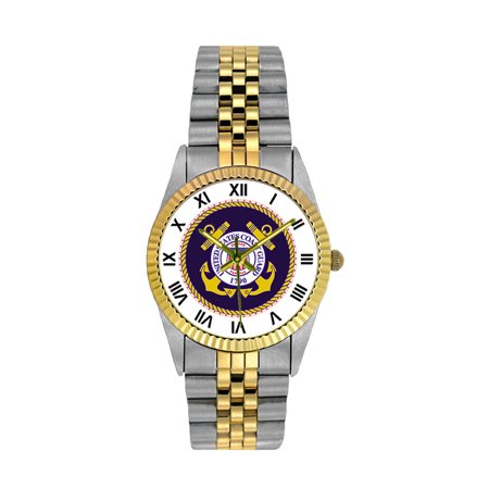 US Coast Guard Stainless Steel Mens Watch ()