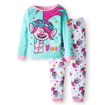 Cotton Tight Fit Pajamas, 2-piece Set (Toddler Girls) for $<!---->