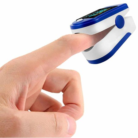 C101J0 Digital SpO2 Fingertip Pulse Oximeter Oxygen Finger Monitor Blood Oxygen Sensor Saturation Level Meter