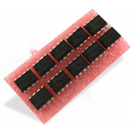 LM358N IC, OP-AMP, DIP-8 (10 pieces), Price For: Each Op Amp