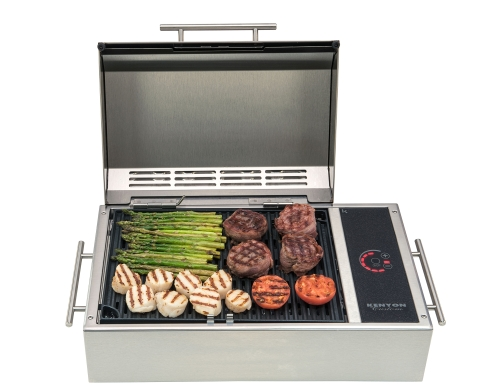 Frontier All Seasons Portable 120V Electric Grill by Kenyon Custom by Kenyon