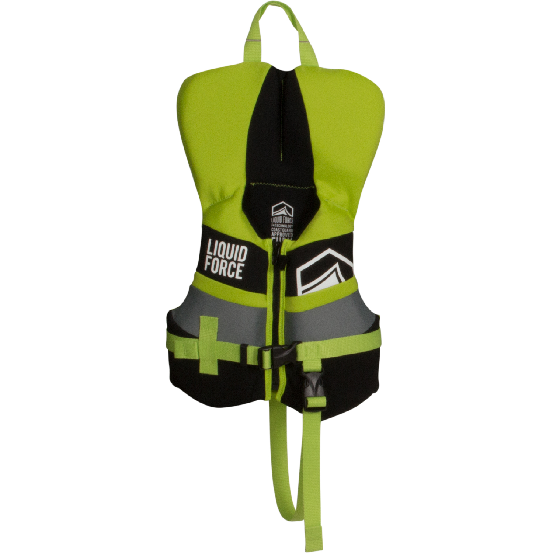 Liquid Force 2018 Fury CGA Infant Vest (Black/Green) Kid'...